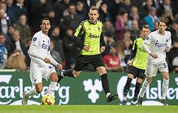 Anders K. Jacobsen (OB) under kampen i 3F Superligaen mellem FC København og OB den 16. december 2019 i Telia Parken, København (Foto: Claus Birch).