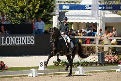 Fry Charlotte, GBR, Glamourdale<br /> World ChampionshipsYoung Dressage Horses<br /> Ermelo 2018<br /> © Hippo Foto - Dirk Caremans<br /> 03/08/2018