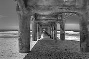 Manhattan Beach Pier is a pier located in Manhattan Beach, California, on the coast of the Pacific Ocean.