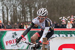 Philipp Walsleben (GER) of BKCP-Powerplus, Men Elite, Cyclo-cross World Cup Hoogerheide, The Netherlands, 25 January 2015, Photo by Pim Nijland / PelotonPhotos.com