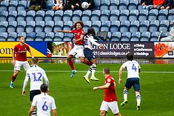 Han-Noah Massengo of Bristol City and Daniel Johnson of Preston North End - Rogan/JMP - 28/09/2019 - Deepdale Stadium - Preston, England - Preston North End v Bristol City - Sky Bet Championship.