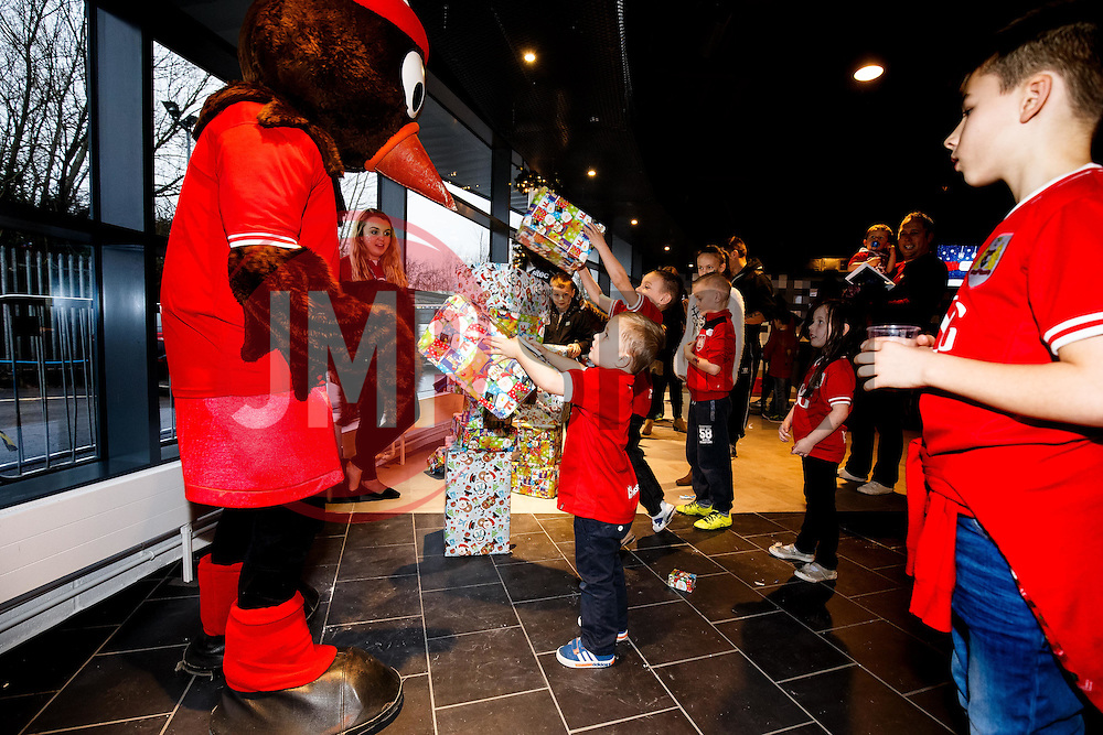 Season ticket holders and members of Bristol Sport 7s and Forever Bristol take part in a Bristol Sport Christmas Party - Mandatory byline: Rogan Thomson/JMP - 22/12/2015 - SPORT - Ashton Gate Stadium - Bristol, England - Bristol Sport Christmas at Ashton Gate.