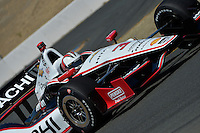 Helio Castroneves, Milwaukee Mile, Milwaukee, WI USA 8/17/2014