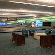 Baggage claim at Orlando International Airport remains functional but mostly empty to air passengers due to the Coronavirus (Covid-19) outbreak on Friday, April 17, 2020 in Orlando, Florida. (Alex Menendez via AP)