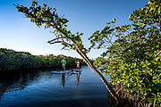 Paddling and traveling in the Florida Keys.