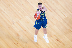 Edo Muric of Slovenia during basketball match between National teams of Slovenia and Turkey in Round #8 of FIBA Basketball World Cup 2019 European Qualifiers, on September 17, 2018 in Arena Stozice, Ljubljana, Slovenia. Photo by Urban Urbanc / Sportida