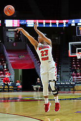 NORMAL, IL - December 16: Viria Livingston during a college women's basketball game between the ISU Redbirds and the Maryville Saints on December 16 2018 at Redbird Arena in Normal, IL. (Photo by Alan Look)