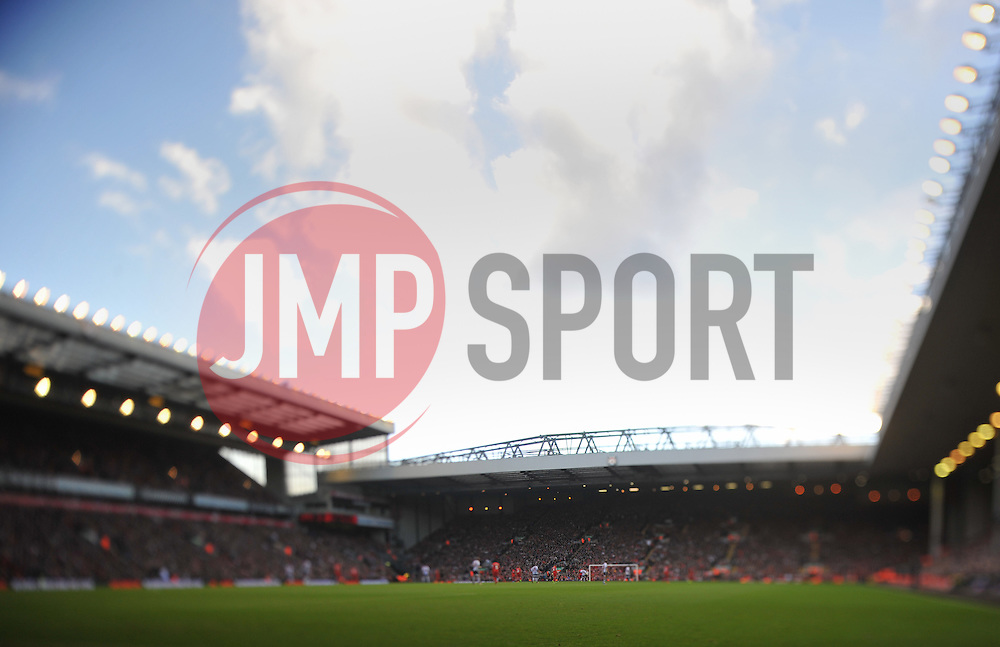 Anfield Stadium - Photo mandatory by-line: Alex James/JMP - Tel: Mobile: 07966 386802 26/10/2013 - SPORT - FOOTBALL - Anfield Stadium - Liverpool - Liverpool v West Brom - Barclays Premier League