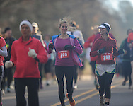 Run4Hope half marathon in Oxford, Miss. on Saturday, February 23, 2013.