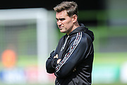 Grimsby Town manager Michael Jolley during the EFL Sky Bet League 2 match between Forest Green Rovers and Grimsby Town FC at the New Lawn, Forest Green, United Kingdom on 17 August 2019.
