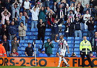 Photo: Rich Eaton.<br /> <br /> West Bromwich Albion v Leeds United. Coca Cola Championship. 30/09/2006. Diomansy Kamara of West Brom celebrates scoring his 2nd and West Broms 4th