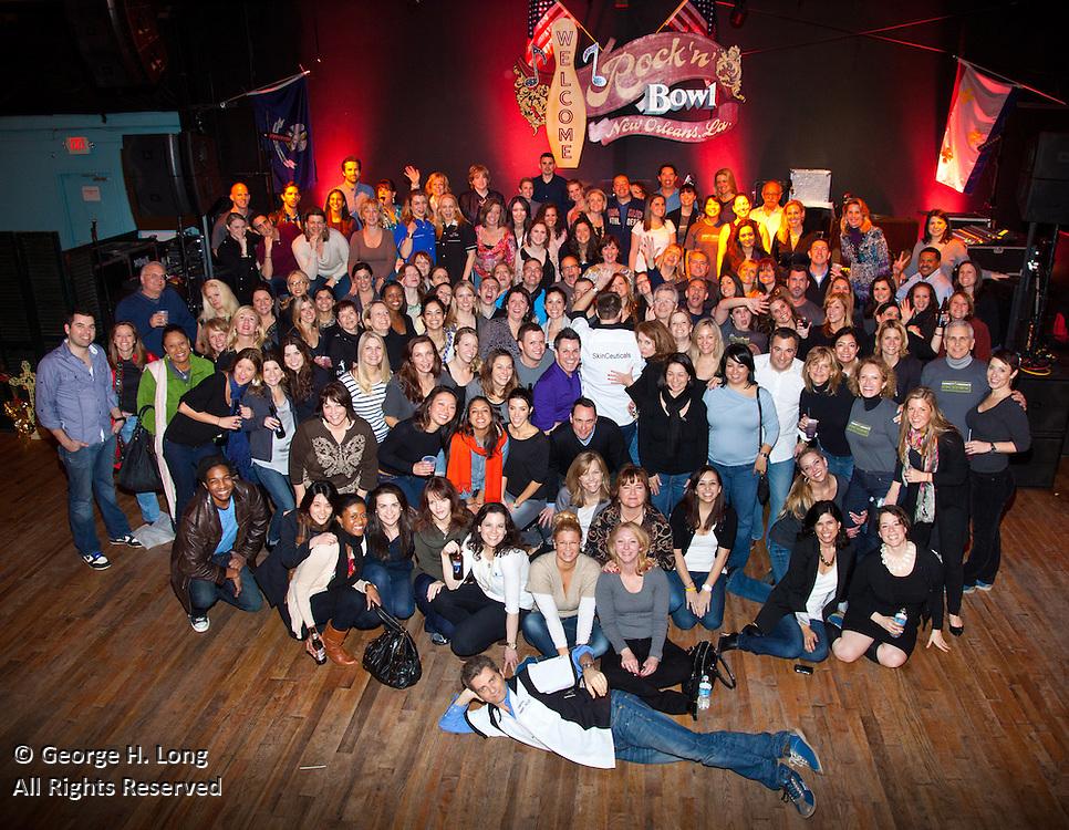 L'Oréal party at Rock 'N' Bowl; ACCENT on Arrangements