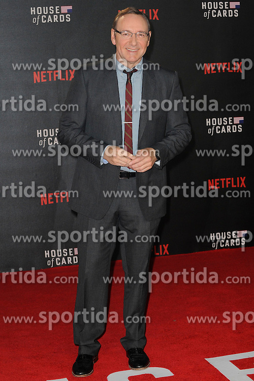 Kevin Spacey attends the World Premiere of 'House of Cards' Season 3 at The Empire Cinema on February 26, 2015 in London, England. EXPA Pictures &copy; 2015, PhotoCredit: EXPA/ Photoshot/ Euan Cherry<br /> <br /> *****ATTENTION - for AUT, SLO, CRO, SRB, BIH, MAZ only*****