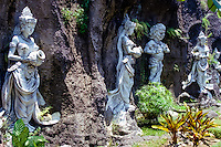 Bali, Tabanan. A group of statues just outside Tabanan city.