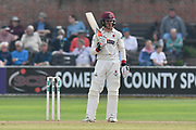 Tom Abell of Somerset batting during the Specsavers County Champ Div 1 match between Somerset County Cricket Club and Middlesex County Cricket Club at the Cooper Associates County Ground, Taunton, United Kingdom on 26 September 2017. Photo by Graham Hunt.