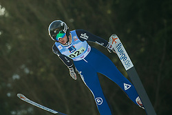 BELSHAW Annika (USA) during First round on Day 1 of FIS Ski Jumping World Cup Ladies Ljubno 2020, on February 22th, 2020 in Ljubno ob Savinji, Ljubno ob Savinji, Slovenia. Photo by Matic Ritonja / Sportida