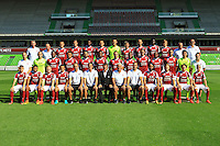Team Metz poses for a portrait during the Metz squad photo call for the 2016-2017 Ligue 1 season on September 15, 2016 in Metz, France<br /> Photo : Fred Marvaux / Icon Sport