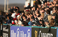 Newcastle - Sunday, March 7th, 2010: Newcastle Falcons fans celebrate during the Guinness Premiership match at Newcastle. (Pic by Steven Hadlow/Focus Images)