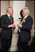IAN RICE; JONATHAN LASS, The hon Alexandra Foley hosts drinks to introduce ' Lady Foley Grand Tour' with special guest Julian Fellowes. the Sloane Club. Lower Sloane st. London. 14 May 2014