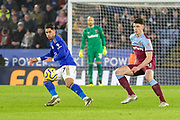 Ayoze Perez (17) during the Premier League match between Leicester City and West Ham United at the King Power Stadium, Leicester, England on 22 January 2020.