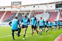 ALKMAAR - 19-10-2016, training persconferentie AZ, AFAS Stadion, AZ speler Wout Weghorst