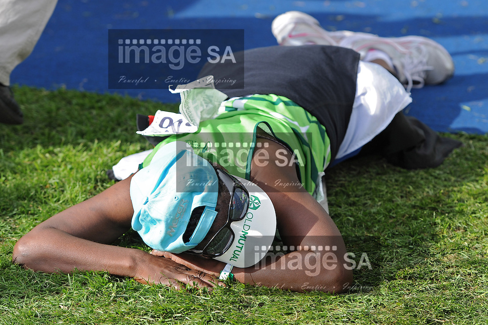 CAPE TOWN, South Africa - Saturday 30 March 2013, The half marathon of the Old Mutual Two Oceans Marathon. .Photo by Roger Sedres/ ImageSA