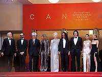 Bill Murray, Carter Logan, Tilda Swinton, Director Jim Jarmusch, Sara Driver,  Luka Sabbat, Adam Driver, Selena Gomez, Chloe Sevigny, at the Opening Ceremony and The Dead Don't Die gala screening at the 72nd Cannes Film Festival Tuesday 14th May 2019, Cannes, France. Photo credit: Doreen Kennedy