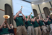 18174Sales Celebration and Awards Ceremony, April 19, 2007. Walter Hall Rotunda..Opening Reception: The Marching 110