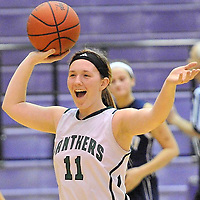 2.26.2013 Elyria Catholic vs Rootstown Girls Varsity Basketball