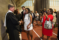 St Paul's Graduation Day.  ©2016 Karen Bobotas Photographer