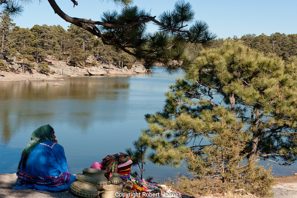 Lago Arareco, Copper Canyon, Mexico