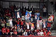 Tifosi Cartelloni Varese<br /> Openjobmetis Varese - Carpegna Prosciutto Basket Pesaro<br /> Basket Serie A LBA 2019/2020<br /> Varese 15 December 2019<br /> Foto Mattia Ozbot / Ciamillo-Castoria