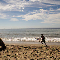 Butterfly Beach is a small, semi secluded beach in Santa Barbara, California.