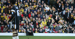 London, England - Saturday, March 3, 2007: Charlton Athletic's Talal El Karkouri in action in the game with Watford in the Premiership match at Vicarage Road. (Pic by Chris Ratcliffe/Propaganda)