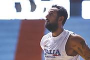 Marco Belinelli<br /> Raduno Nazionale Maschile Senior<br /> Allenamento pomeriggio<br /> Cagliari, 05/08/2017<br /> Foto Ciamillo-Castoria/ M. Brondi