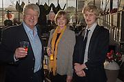 STANLEY JOHNSON; JENNY JOHNSON; THEO JOHNSON, Rachel Johnson book launch of Fresh Hell, Acklam Village Market, Acklam Rd. London W10.