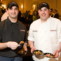 Exec Chef Rob Fasano and crew from CBS Scene at Flavors of Neponset Valley 2011