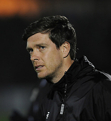Bristol Rovers Manager, Darrell Clarke - Photo mandatory by-line: Neil Brookman/JMP - Mobile: 07966 386802 - 20/03/2015 - SPORT - Football - England - Memorial Stadium - Bristol Rovers v Aldershot - Vanarama Football Conference