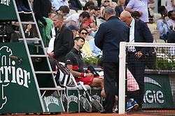 June 5, 2018 - Paris, France - Novak Djokovic  (Credit Image: © Panoramic via ZUMA Press)