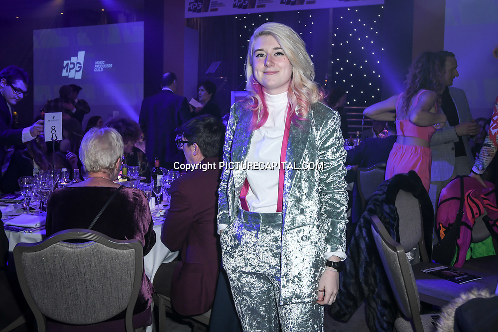 Lauren Deakin-Davies - producer Gary Barlow attend The Music Producers Guild Awards at Grosvenor House, Park Lane, on 27th February 2020, London, UK.