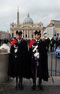 Città del Vaticano 17 Febbraio 2013.La domenica dell'Angelus  del Papa dimissionario....Vatican City,  February 17, 2013.The Sunday of the Angelus of the Pope resigning.