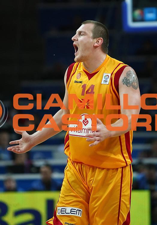 DESCRIZIONE : Kaunas Lithuania Lituania Eurobasket Men 2011 Finale Terzo Quarto Posto Classification Game for 3rd to 4th Place Macedonia Russia F.Y.R of Macedonia Russia<br /> GIOCATORE : Gjorgij Chekovski <br /> SQUADRA : Macedonia F.Y.R. of Macedonia<br /> EVENTO : Eurobasket Men 2011<br /> GARA : Macedonia Russia F.Y.R of Macedonia Russia<br /> DATA : 18/09/2011 <br /> CATEGORIA : delusione disappointment<br /> SPORT : Pallacanestro <br /> AUTORE : Agenzia Ciamillo-Castoria/Y.Matthaios<br /> Galleria : Eurobasket Men 2011 <br /> Fotonotizia : Kaunas Lithuania Lituania Eurobasket Men 2011 Finale Terzo Quarto Posto Classification Game for 3rd to 4th Place Macedonia Russia F.Y.R of Macedonia Russia<br /> Predefinita :