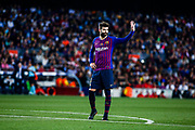 03 Gerard Pique from Spain of FC Barcelona during the Spanish championship La Liga football match between FC Barcelona and Real Sociedad on May 20, 2018 at Camp Nou stadium in Barcelona, Spain - Photo Xavier Bonilla / Spain ProSportsImages / DPPI / ProSportsImages / DPPI