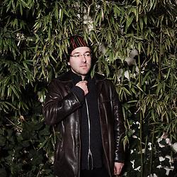 """Portrait de Christophe Blanc, realisateur du film """"Blanc comme Neige"""". Paris, France. 15 janvier 2010. Photo : Antoine Doyen pour MK2 / Trois Couleurs"""