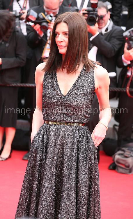 Chiara Mastroianni at the the Grace of Monaco gala screening and opening ceremony red carpet at the 67th Cannes Film Festival France. Wednesday 14th May 2014 in Cannes Film Festival, France.