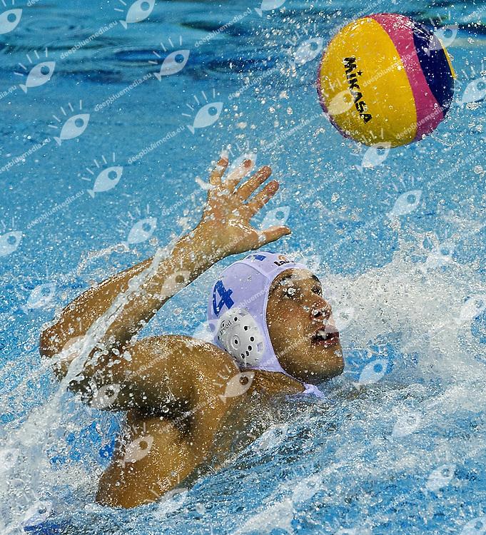 Shanghai , China (CHN) 16-31 July 2011<br /> XIV FINA Swimming World Championships<br /> day 07<br /> Men's Water Polo<br /> ITA-GER<br /> FIGLIOLI Pietro ITA<br /> <br /> <br /> Photo G.Scala/Deepbluemedia.eu