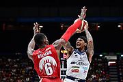 Moss David<br /> A X Armani Exchange Olimpia Milano - Germani Basket Brescia<br /> Basket Serie A LBA 2019/2020<br /> MIlano 29 September 2019<br /> Foto Mattia Ozbot / Ciamillo-Castoria