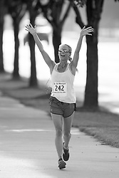 Jennifer Komis 3rd Place Finisher in her age group at Kiwanis 4 Mile Sweaty Bawls Run, Saturday, July 23, 2016 at Downtown in Louisville.