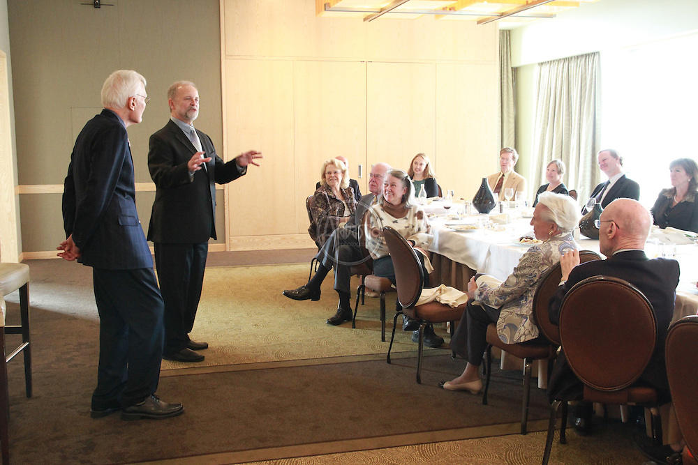 Seattle Opera Director's Luncheon with Gary Thor Wedow conductor for Magic Flute