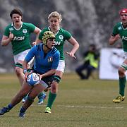 L'Aquila 12/02/2017 Stadio Fattori<br /> RBS 6 nations women 2017<br /> Italia vs Irlanda<br /> Beatrice Rigoni